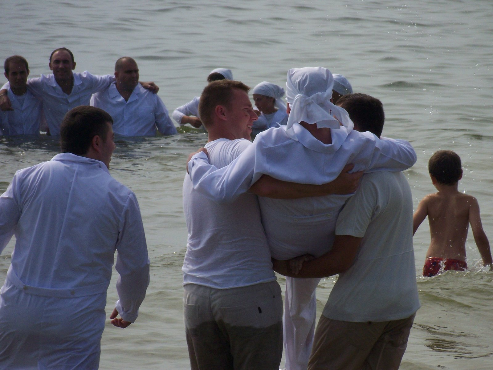 Hope for People Baptism - The Suko Family