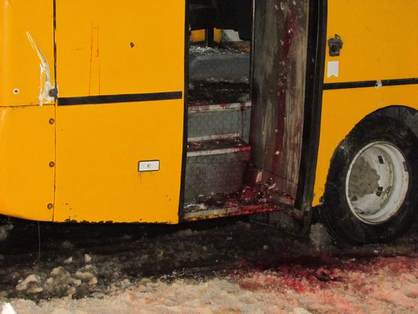 bloody bus