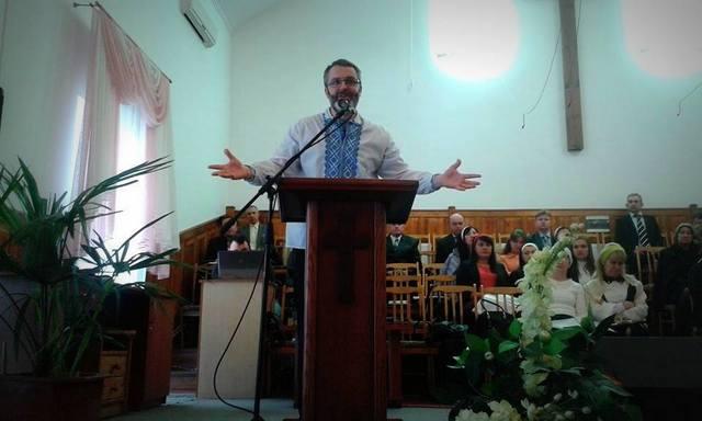 preaching in Nickolaev