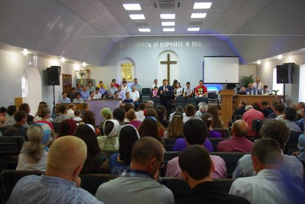 House of Prayer in Krasny Luch